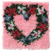 Go to Product: Wonderart Heart Wreath Kit 12 X 12 in color