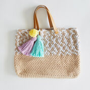 Red Heart Beach Days Crochet Tote