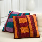 Go to Product: Red Heart Mod Striped Pillows in color