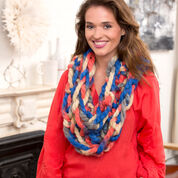 Red Heart Super Style Arm Knit Cowl