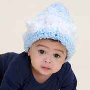 Red Heart Snowstorm Baby Hat