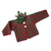 Go to Product: Caron Mitered Striped Baby Sweater, 12 mos in color