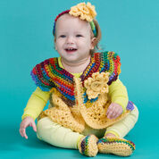 Go to Product: Red Heart Fall Baby Set, 3 mos in color