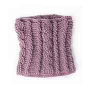 Patons Climbing Cables Crochet Cowl
