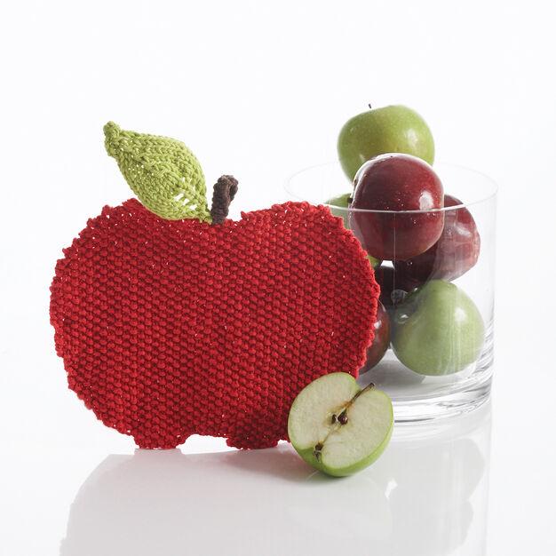 Bernat Apple Dishcloth