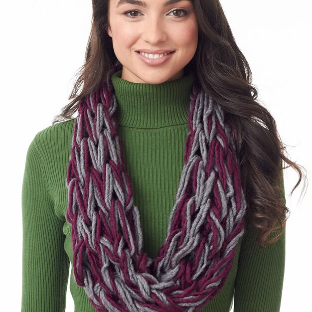 Bernat Totally Tubular Arm Knit Cowl