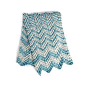 Go to Product: Bernat Shifting Chevrons Knit Blanket in color