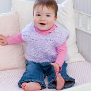 Go to Product: Red Heart Warm & Happy Crochet Vest, 6 mos in color