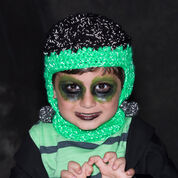 Red Heart Frankenstein Hat, Toddler