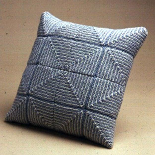 Patons Large Pastel Squares Pillow