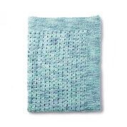 Bernat Daydream Twist Knit Blanket