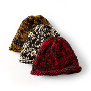 Go to Product: Bernat Raised Beanie, Yellow in color