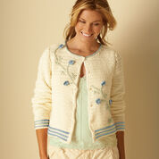 Go to Product: Bernat Flower Cardigan, XS/S in color