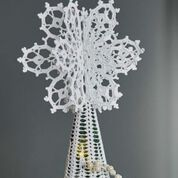 Go to Product: Aunt Lydia's Lacy Joyful Tree Topper in color