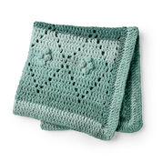 Bernat Diamond Filet Crochet Blanket