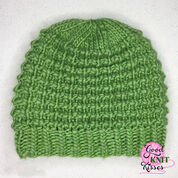 Patons Easy Going Loom Knit Hat