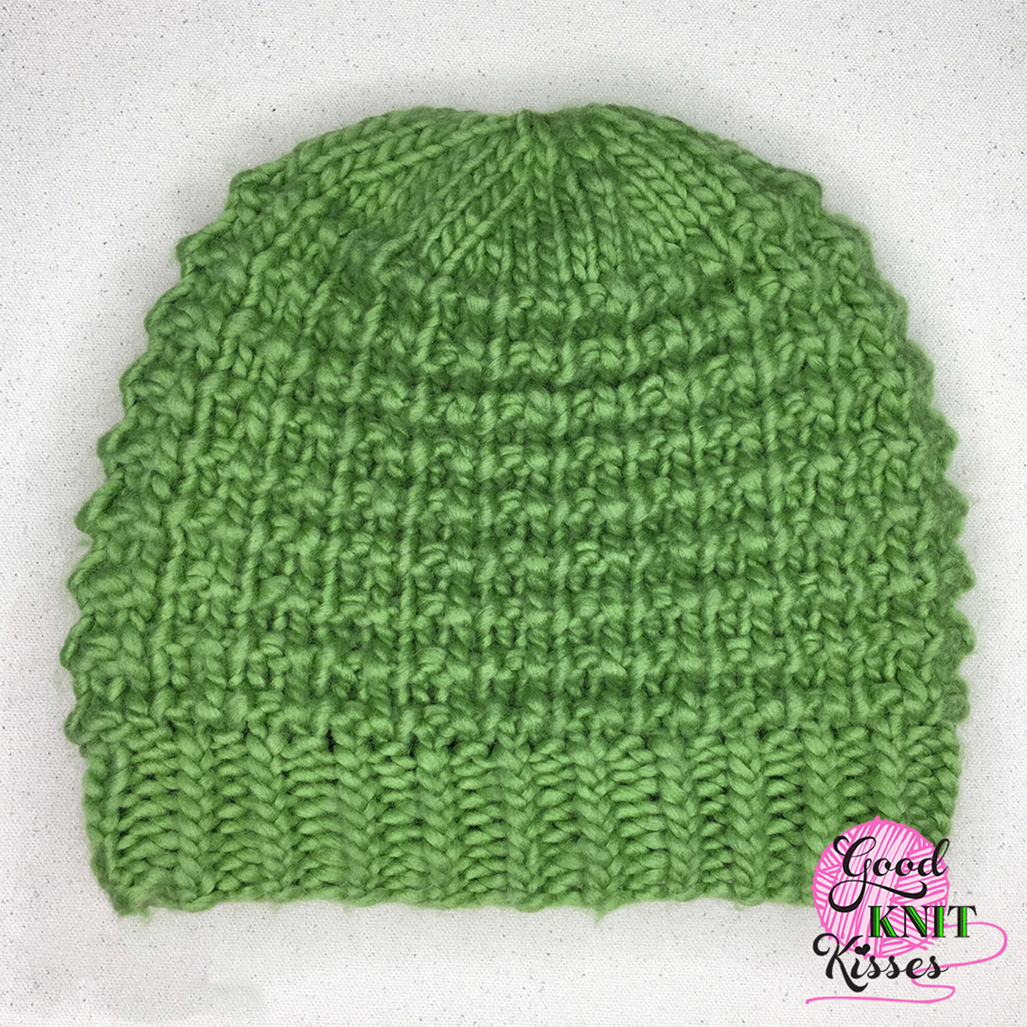 Patons Easy Going Loom Knit Hat Yarnspirations
