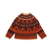 Go to Product: Patons Alcona Colorwork Crochet Sweater, XS/S in color