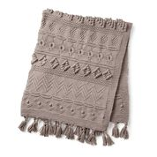 Go to Product: Bernat Sampler Knit Blanket in color