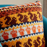 Patons Autumn Harvest Knit Pillow in color