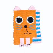Go to Product: Lily Sugar'n Cream Cute Crochet Cat Dishcloth in color