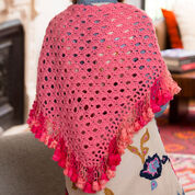 Go to Product: Red Heart Fringed V-Stitch Shawl in color