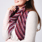 Caron Bias Stripes Scarf