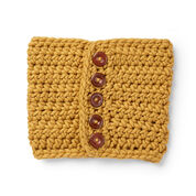Go to Product: Sugar Bush Cool Button-Up Crochet Cowl in color