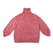 Go to Product: Caron top down Funnel Neck Knit Pullover, XS/S in color