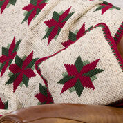 Go to Product: Red Heart Christmas Star Throw and Pillow in color