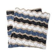 Bernat Knit Zig-Zag Blanket