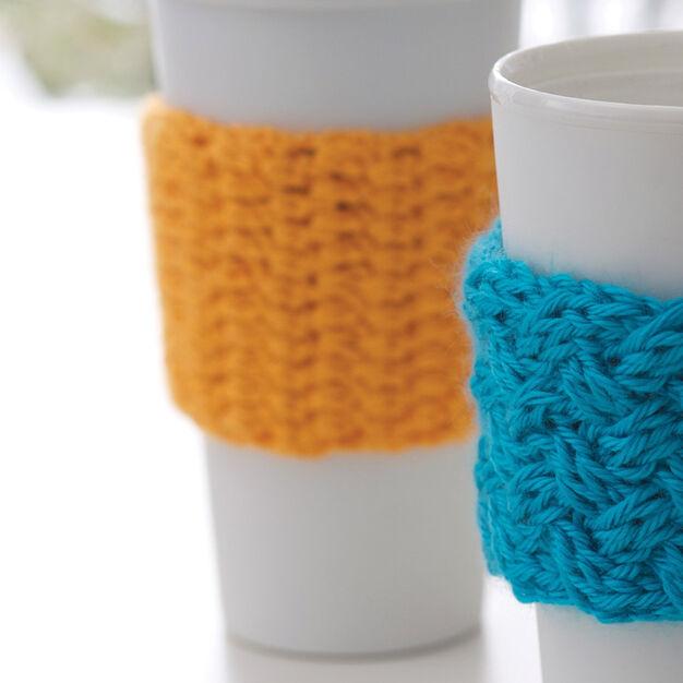 Caron Coffee-on-the-go Crochet Cozy