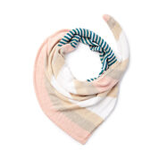 Caron x Pantone Smooth Stripes Knit Shawl