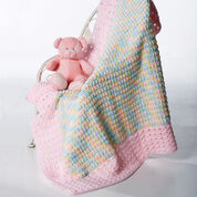 Go to Product: Bernat Clusters and Crosses Blanket, Boys in color