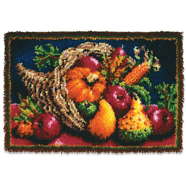 Wonderart Clsc Country Harvest Kit 20x30 in color