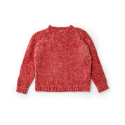 Bernat Knit Top Down Pullover, XS/S