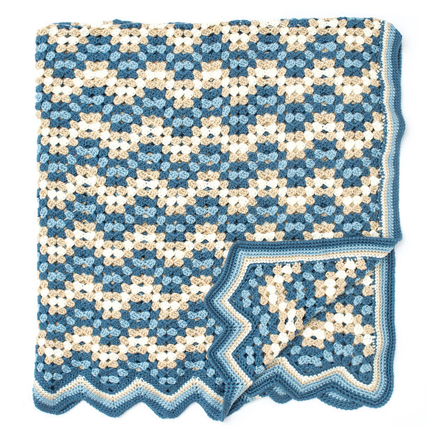 Caron Granny Goes Ripple in color