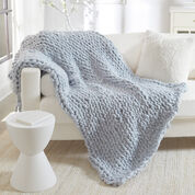 Go to Product: Red Heart No-Needles Knit Blanket in color
