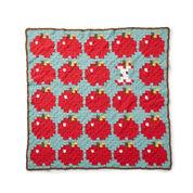 Bernat How 'Bout Them Apples? Crochet Blanket