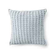 Go to Product: Bernat Velvet Waffle Crochet Pillow in color