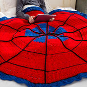 Go to Product: Red Heart Spider Web Throw in color