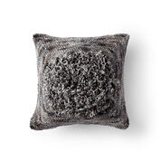 Bernat Loopy Center Crochet Pillow