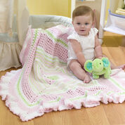 Go to Product: Red Heart Ruffled Granny Baby Blanket in color