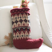 Go to Product: Patons Fair Isle Stocking in color
