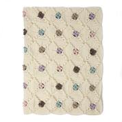 Patons Little Dots Will Do Ya Crochet Blanket