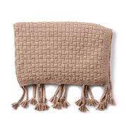 Go to Product: Bernat Basketweave Knit Throw in color