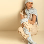 Go to Product: Bernat Cable Hat, Mittens, Scarf and Socks, Socks in color