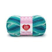 Red Heart Hugs & Kisses Yarn, Mixed Mints