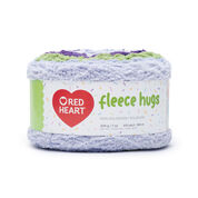 Go to Product: Red Heart Fleece Hugs Yarn, Violets in color Violets
