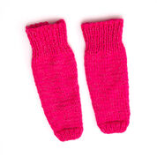Red Heart Kid's Legwarmers with Flash, S